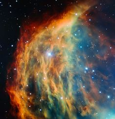 The Medusa Nebula.   1500 light years away and 4 light years across.