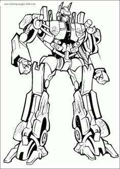 Transformers Coloring Sheets Avengers Pages Superhero Online