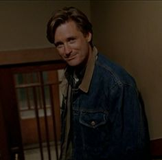 Bill Pullman in While You Were Sleeping. man of my dreams *sigh* 90s Movies, Good Movies, Movie Tv, Movies Showing, Movies And Tv Shows, Bill Pullman, Empire Records, Male Icon, Everything Has Change