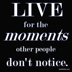 Live for the moments other people don't notice. - the one thing photography and pilates have in common!