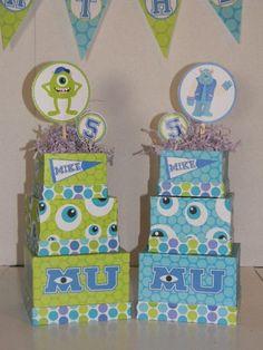Monster University Inspired Birthday Centerpieces | PoppinPartyDesigns - Children's on ArtFire