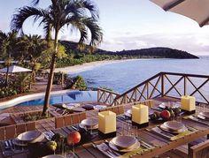 Exotic Outdoor Space by Giorgio Armani in Antigua