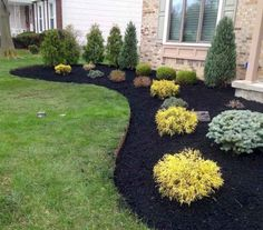 60 Stunning Low Maintenance Front Yard Landscaping Design Ideas And Remodel (34)