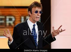 British musician Robin Gibb prepares to present the award for best international actor during the 46th Golden Camera award ceremony in Berlin, Germany, 5 February 2011. The award honours the audience's favourites from film, television, sports and media.