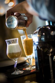 freddo espresso and freddo cappuccino ready to enjoy