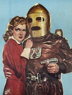 Vintage Sci Fi - Retro Futurism / Ray Gun / Space Suit