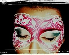 Lace for face painting