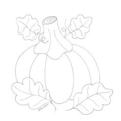 Heres Another Coloring Page Based On Our October Applique Blocks