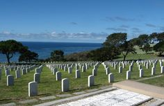 Fort Rosecrans Cemetery - Cemeteries - Remember heroes from the military in the breathtaking cemetery that has a spectacular view at Fort Rosecrans Cemetery
