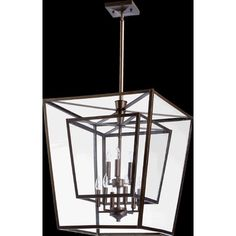 $710-Quorum Kaufmann 9 Light Foyer Pendant