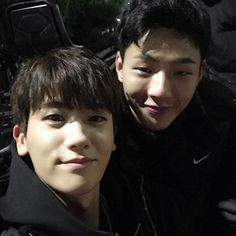 Park Hyung-sik with Ji Soo #박형식