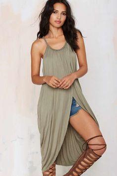 Athena Draped Dress - Day | Basic
