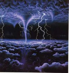 Clouds Lightning Storms:  Lightning clouds.