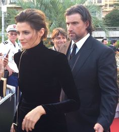 Stana and Kris in Monte Carlo