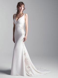 Abbott Dawn - 25541 - Show off those curves! This beauty is available at Aurora Bridal in Melbourne, FL 321-254-3880