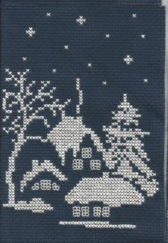Thrilling Designing Your Own Cross Stitch Embroidery Patterns Ideas. Exhilarating Designing Your Own Cross Stitch Embroidery Patterns Ideas. Cross Stitch House, Xmas Cross Stitch, Simple Cross Stitch, Counted Cross Stitch Patterns, Cross Stitch Charts, Cross Stitch Designs, Cross Stitching, Cross Stitch Embroidery, Embroidery Patterns
