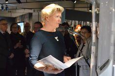 Yksi avajaispuheen pitäjistä oli Kalevala Korun toimitusjohtaja Riitta Huuhtanen.