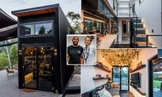 Tiny homes face many challenges. If you want to learn what questions to ask tiny home builders before construction begins, read more here. Tyni House, Tiny House Cabin, Tiny House Living, Tiny House Plans, Tiny House On Wheels, Container Home Designs, Modern Tiny House, Tiny House Design, Prefab Homes