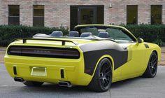 2009 Dodge Challenger Convertible custom-Cuda version