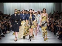 THE VERSACE TRIBUTE COLLECTION - Spring Summer 2018 - YouTube
