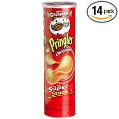 empty pringles cans (large and small sizes)