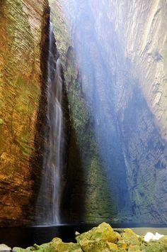 Cachoeira da Fumacinha - Chapada Diamantina National Park - Bahia (Brazil)