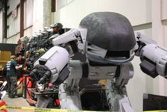Scenes from Saturday at Maker Faire: ED-209 by Shawn Thorsson