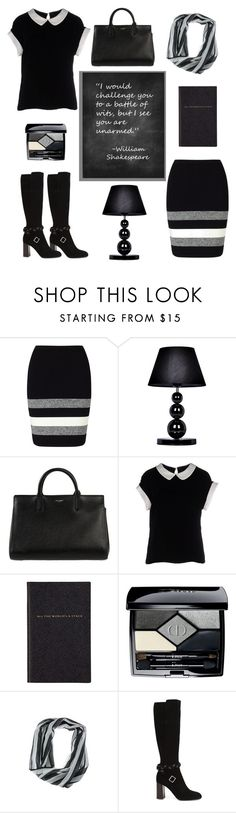 """'armless"" by molly2222 ❤ liked on Polyvore featuring Phase Eight, All the Rages, Yves Saint Laurent, Armani Collezioni, Smythson, Christian Dior and RITCH ERANI NYFC"