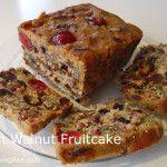 Rich Walnut Fruitcake