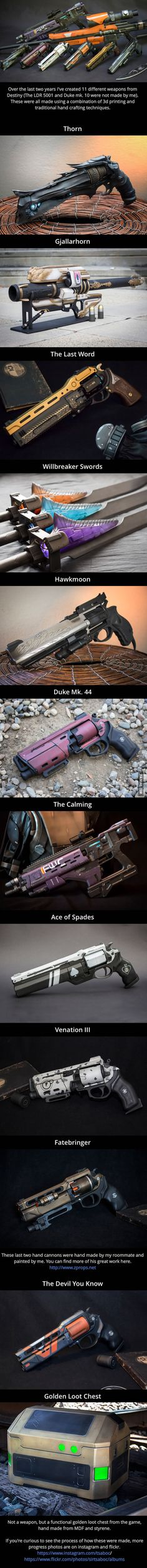 11 real-life weapons from Destiny by Eric Newgard