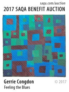 Art quilt by Gerrie Congdon