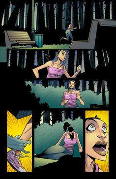 MH page 1- story: Michael Exner, art: Francesco Chiappara, Colors: K Micheal Russell