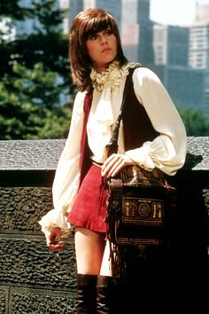 Jane Fonda in Klute (1971), directed by Alan J. Pakula. Costumes by Ann Roth.