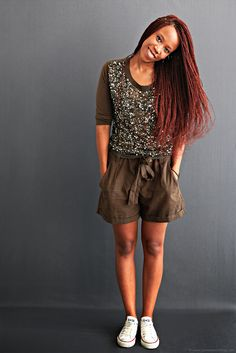 sequins x shorts on www.teeteeiswithme.com by http://www.connervarinblog.com/