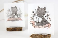 ooh, really love these squirrel bookplates...combo of squirrel, fox, and owl from this etsy shop?