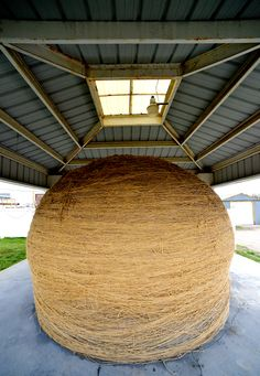 World's largest ball of twine, Cawker City, KS, by Ted Lee Eubanks