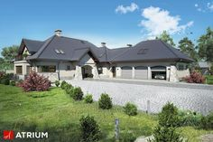 Projekt Willa Panorama II - elewacja domu