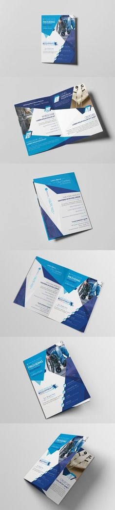 PSD Home Medical Equipment/ A5 Brochure Template