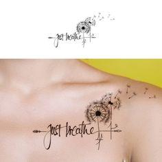 Winning design by afiesya_z tattoo tattoos inked ink Mini Tattoos, Little Tattoos, Body Art Tattoos, Small Tattoos, Tattoos Pics, Fake Tattoos, Tattoos Gallery, Tattoo Images, Tatuaje Just Breathe