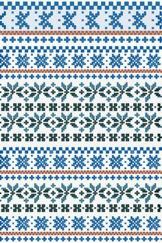 fair isle pattern 1