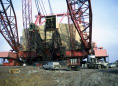 big muskie dragline pictures | Big Muskie - world's largest dragline - Ohio Dec 1970 | Flickr - Photo ...