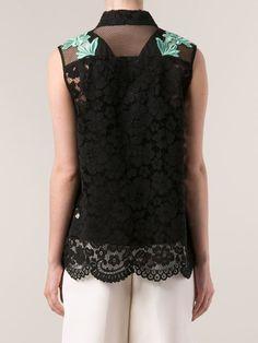 3.1 Phillip Lim Lace Detail Top - Marissa Collections - Farfetch.com