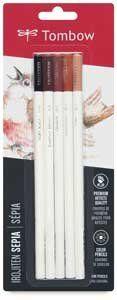 Tombow Irojiten Color Pencil Sets - Color Pencil Set of 5, Sepia