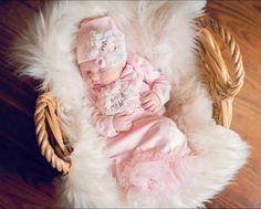 Personalized Newborn Girl Coming Home Outfit Girl Gown Baby Girl Gown Baby Shower Gift Floral Pink Newborn Gown – Cute Adorable Baby Outfits Newborn Coming Home Outfit, Girls Coming Home Outfit, Take Home Outfit, Unique Baby Clothes, Gowns For Girls, Baby Girl Newborn, Baby Girls, Baby Boy Outfits, Newborn Outfits