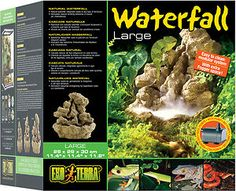 Hagen Reptile Waterfall and Pump Large