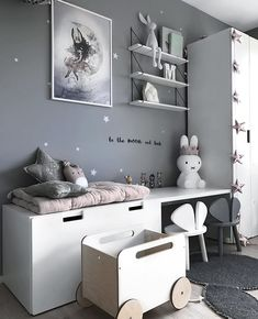 Nursery Room Decor, Kids Bedroom, Chambre Nolan, Ruby Room, Kids Room Design, Kids Furniture, Girl Room, Room Inspiration, Home Decor