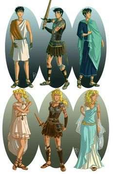 Rick Riordan - Heroes of Olympus: Percy and Annabeth - ancient Greece by Percy Jackson Fan Art, Memes Percy Jackson, Percy Jackson Books, Percy Jackson Fandom, Percy Jackson Costume, Percy Jackson Comics, Percy Jackson Drawings, Viria Percy Jackson, Percy Jackson Outfits