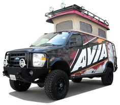 """Sportsmobile Overland Camper - Great for a """"Bug Out"""" vehicle."""
