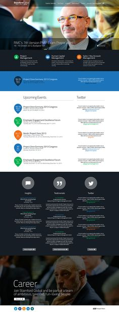 Stamford Global by Integral Vision , via Behance