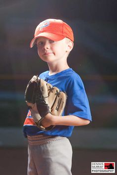 I would absolutely love to have a picture like this taken of my little ball player!
